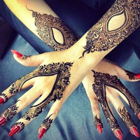 Stylish Mehandi